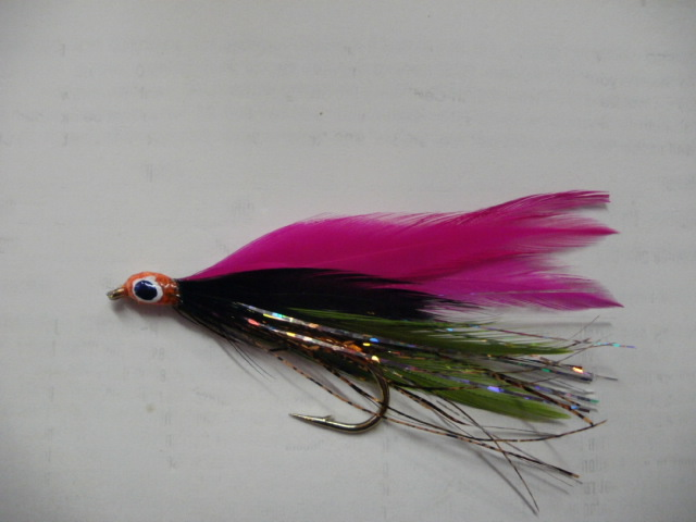 Brandi's Crimson Clover Smelt Fly